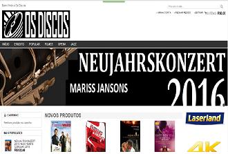 """Nova loja virtual """"Os Discos"""" para você que adora música, do erudito ao popular"""