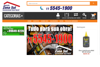 Depósito Zona Sul aposta nas vendas on-line para facilitar o seu dia-a-dia.