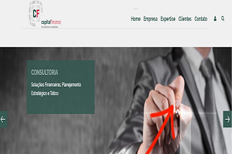 Capital Finance lança novo site,  moderno e preparado para os dispositivos móveis