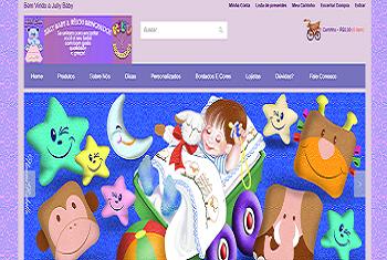 Jully Baby Enxovais e Rêlou Brinquedos: vendas on-line para o mercado varejista