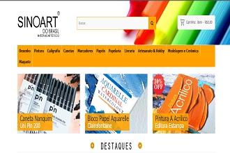 Sinoart inaugura nova loja virtual; tudo novo para melhorar sua experiência